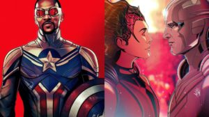 Los fan arts sobre Marvel de Arkin tyag