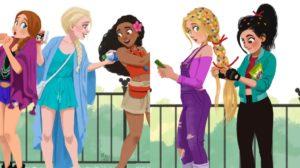 Los fan arts Disney épicos de Mauricio Abril