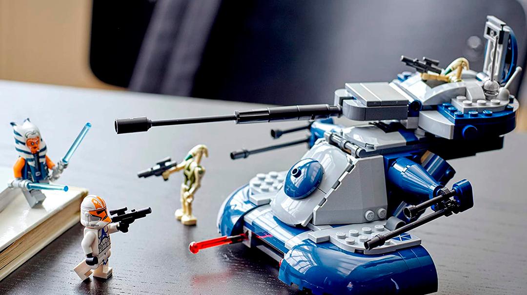 El LEGO de Clone Wars que puede decorar tu habitación