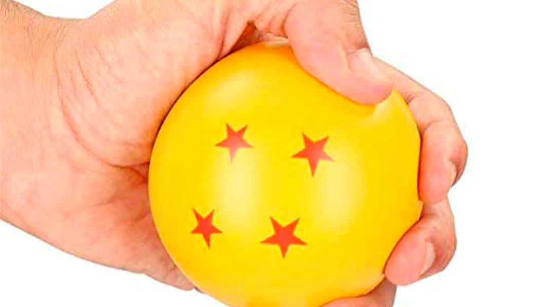 Libera tu estrés con esta pelota de Dragon Ball