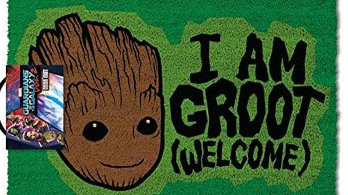 El felpudo más adorable de Groot