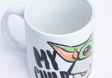La taza más molona de Baby Yoda