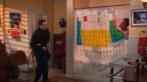 Puedes tener la cortina de ducha de The Big Bang Theory