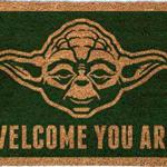 El mejor felpudo de Yoda