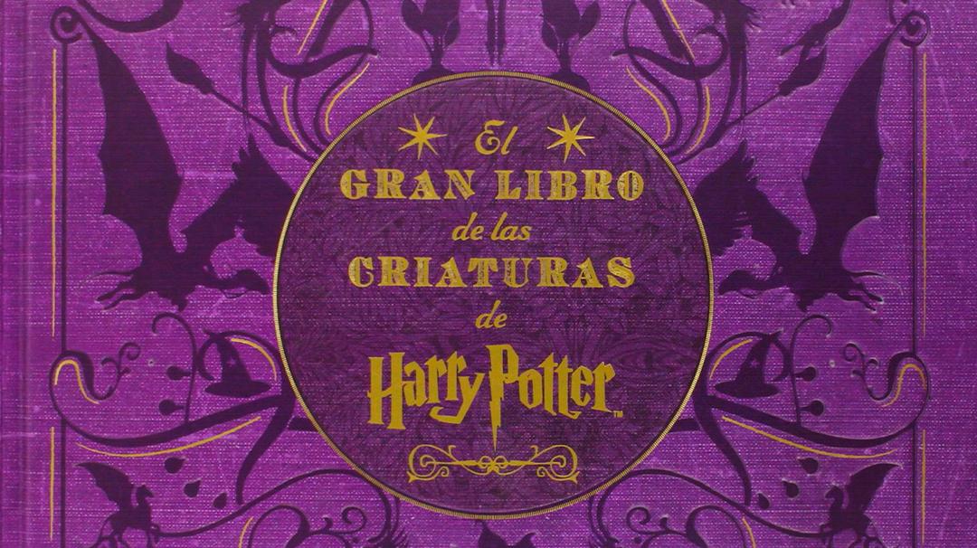 Así es el Gran libro de la Criaturas Mágicas de Harry Potter