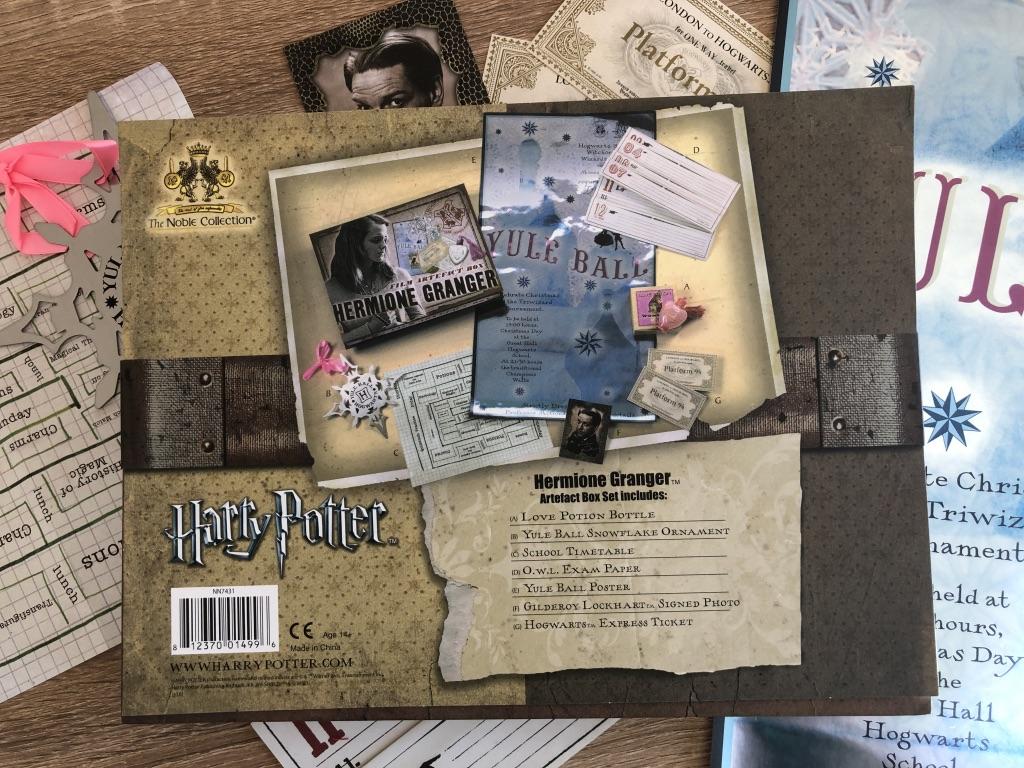 Universo Friki · Caja de Recuerdos de Hermione