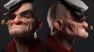 Así sería Popeye en la vida real