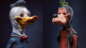 Modelos 3D de personajes clásicos de animación