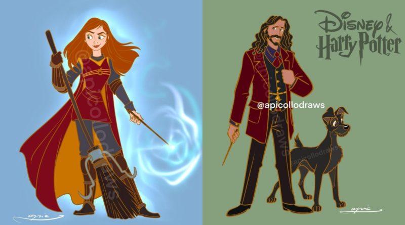 Esto es lo que pasa cuando combinas Harry Potter y Disney