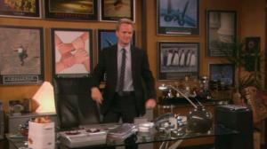 Puedes tener los pósters motivadores de Barney Stinson