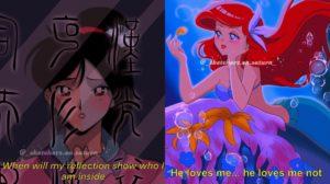 Las princesas Disney si salieran en una serie anime