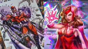 El arte sobre Marvel de Chokoo