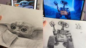 Los sketch de Disney del artista Samet Türkan