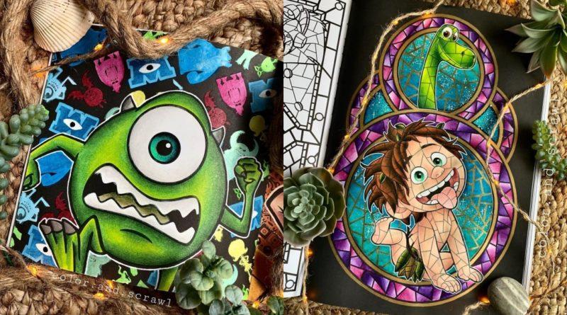 Los coloridos dibujos de Color.and.scrawl