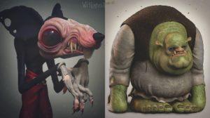 La versión más escalofriante de personajes de tu infancia