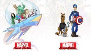 personajes de los 70 - 80 si fueran de Marvel