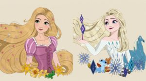 Las princesas de Disney de diana1992d