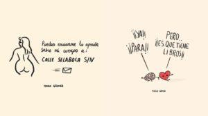 Las viñetas desternillantes de Maria Gómez
