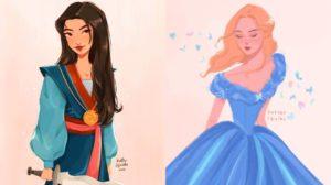Los personajes de Disney de Jessica