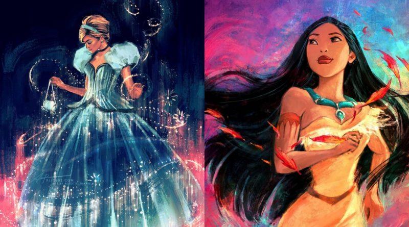 Así es la versión de Alice X. Zhang de las Princesas Disney