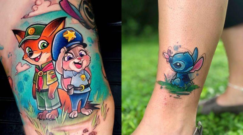 Los tatuajes de Gina Fote