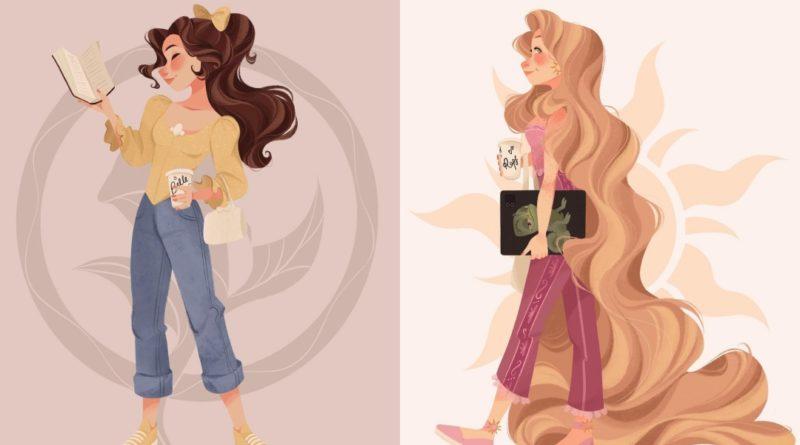 Las Princesas Disney si vivieran en nuestros tiempos