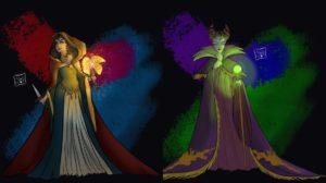 Los mejores Fan Arts de las villanas de Disney