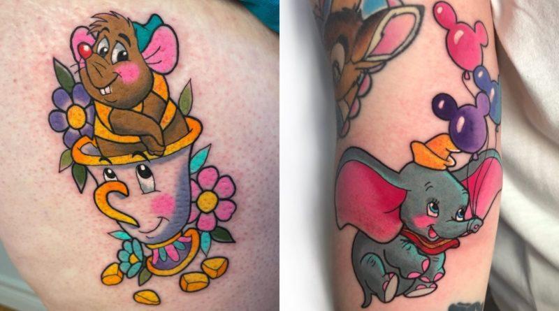 Los tatuajes más adorables de Disney