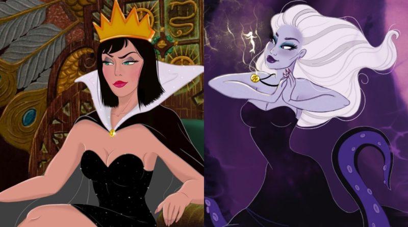 Las villanas de Disney más atractivas que nunca