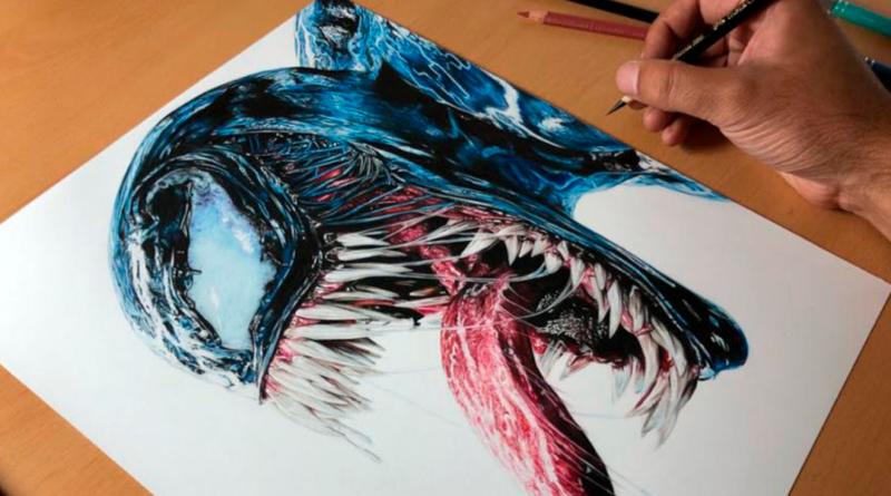 La ilustración más épica de Venom