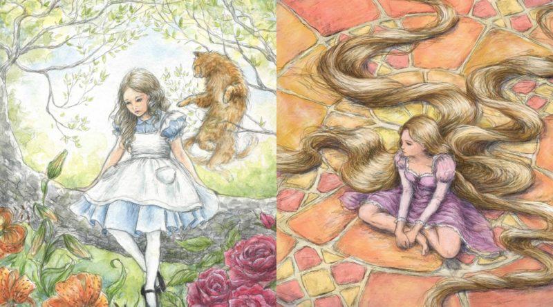 Los dibujos de princesas de Disney Erin Beachy
