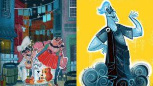 Los dibujos adorables sobre Disney de Victor Jaubert
