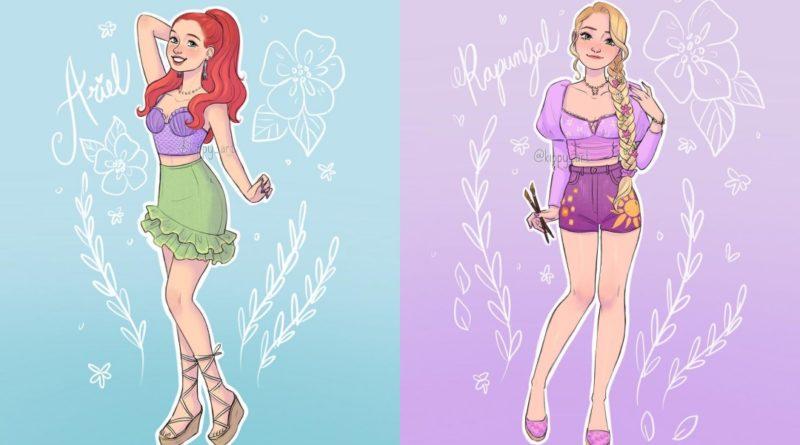 Las Princesas Disney si vivieran en la actualidad
