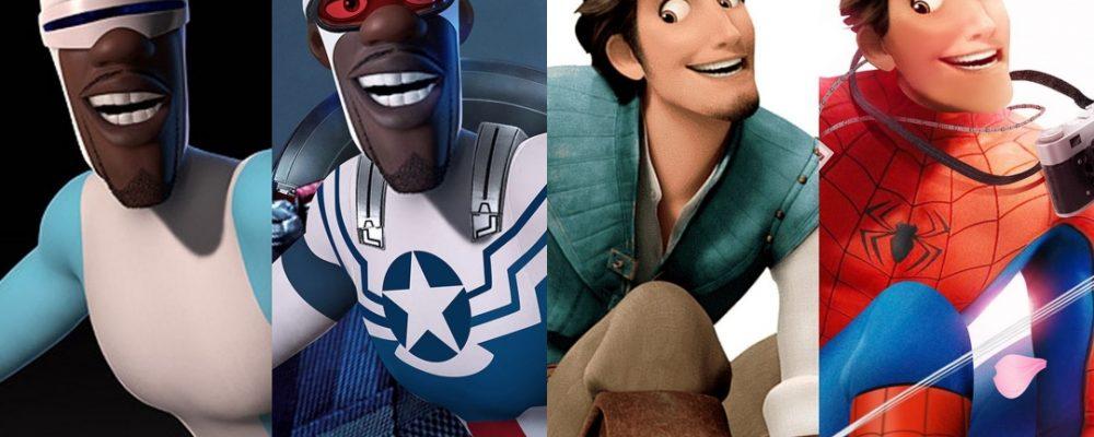 Los personajes Disney si fueran de Marvel