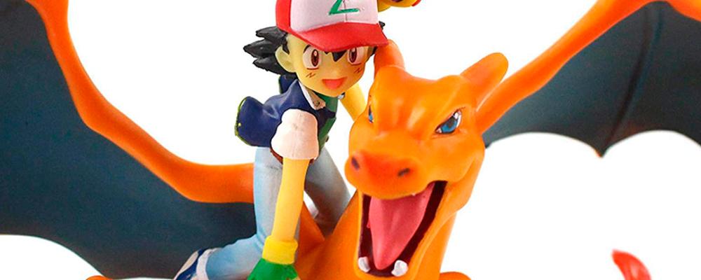 La mejor figura de Ash y Charizard