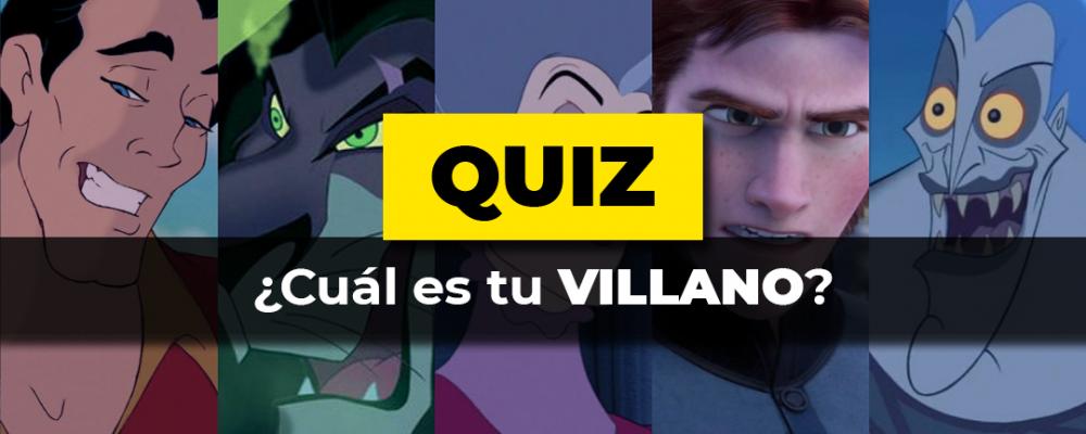 Cuál es tu villano Quiz Portada