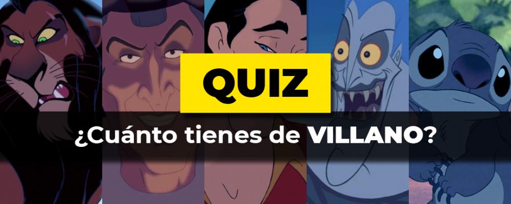 Escala Villano Disney Quiz
