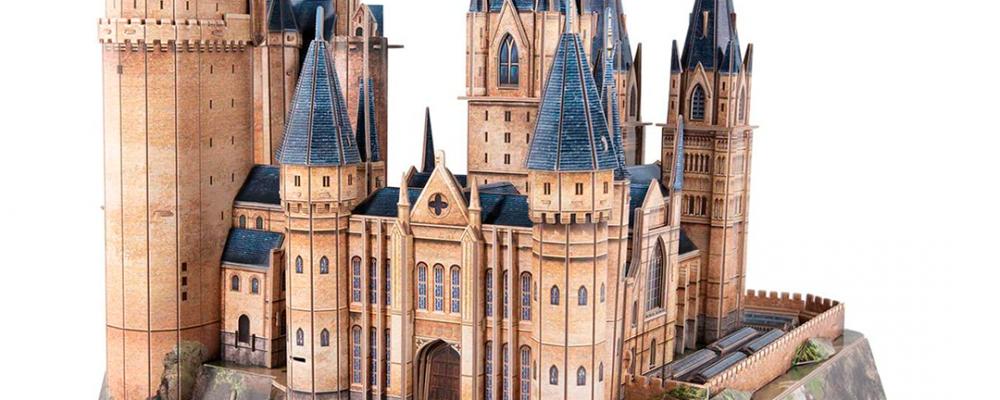 Hogwarts Puzzle 3D