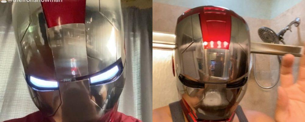Iron Man artista Portada