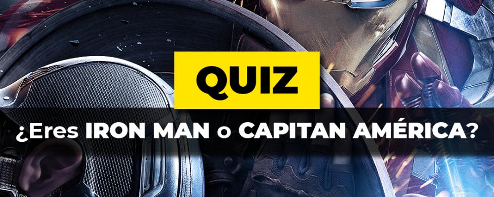 Iron Man o Capitán América Quiz