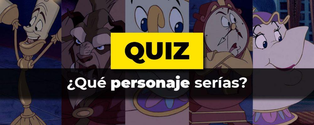 Test: Qué personaje serías de La Bella y la Bestia