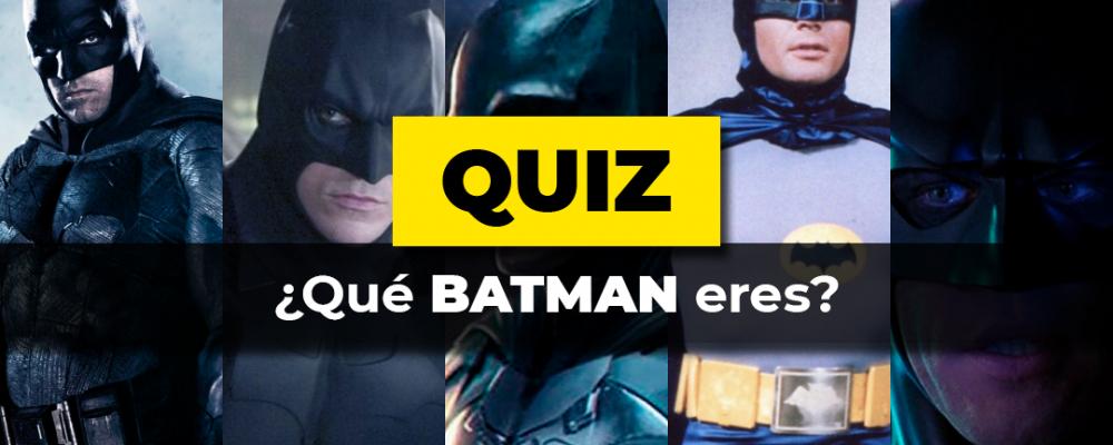 Qué Batman eres Portada