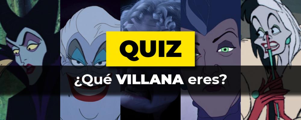 Qué villana eres Quiz