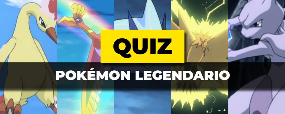 Quiz Pokémon Legendario Portada