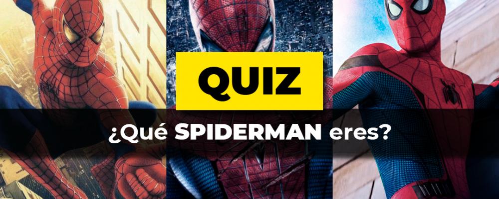 Spiderman eres quiz Portada