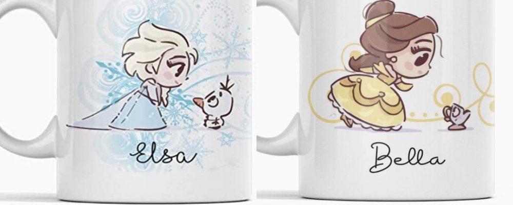 Tazas Princesas Disney portada