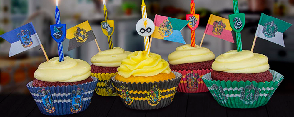 Velas de cumpleaños de Harry Potter