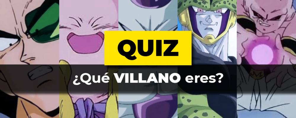 Villano Dragon Ball Quiz Portada