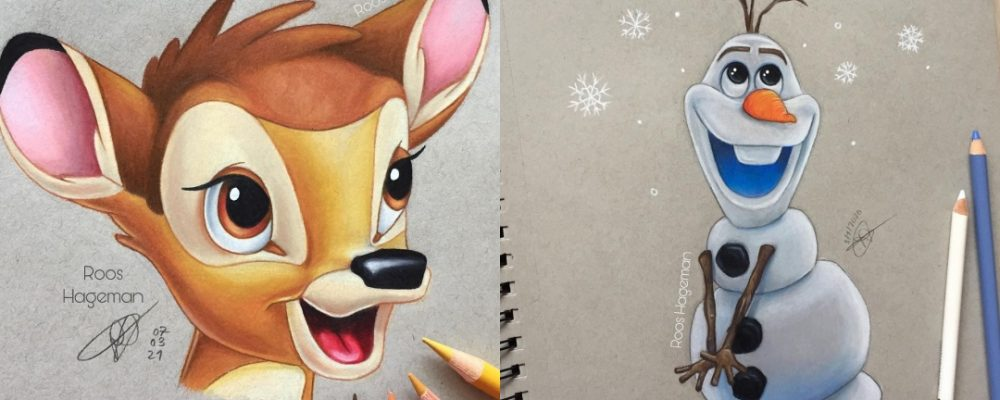 Las ilustraciones Disney
