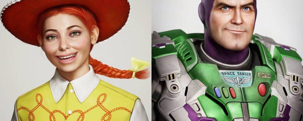 Así lucirían los personajes de Disney si fueran reales